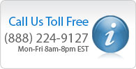Call us toll free at (888) 224-9127